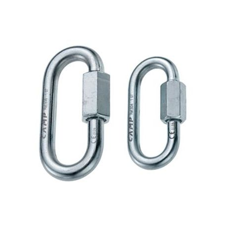 MAILLON OVAL QUICK LINK 10 MM ACERO CAMP