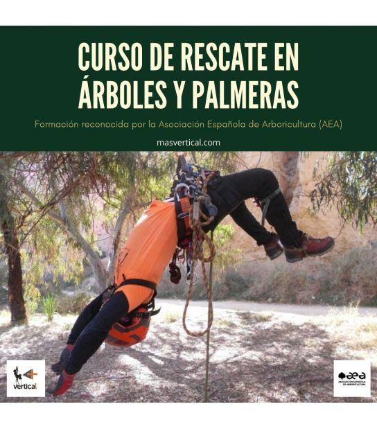 CURSO DE RESCATE EN ÁRBOLES Y PALMERAS